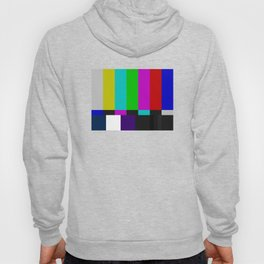 SMPTE Color Bars (as seen on TV) Hoody