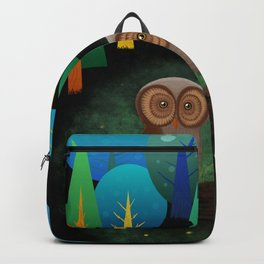 Owl Pals In The Forest Backpack