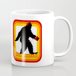 Retro Sasquatch Coffee Mug
