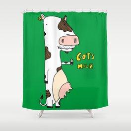 Gots Milk Shower Curtain