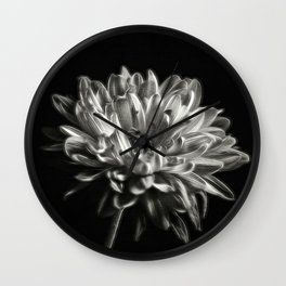 Black and White Dhaila Wall Clock