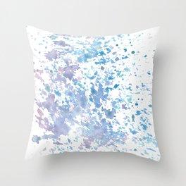Colorful sponge Throw Pillow