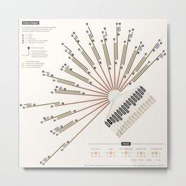 La Lettura | Houseworks Metal Print