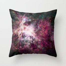 Nebula Intensifies Throw Pillow