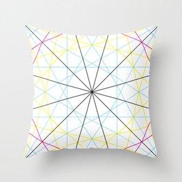 Dodecagon Multi Throw Pillow