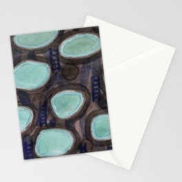 Pools and Ladders Stationery Cards
