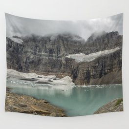 Grinnell and Salamander Glaciers, Soon Things of the Past Wall Tapestry