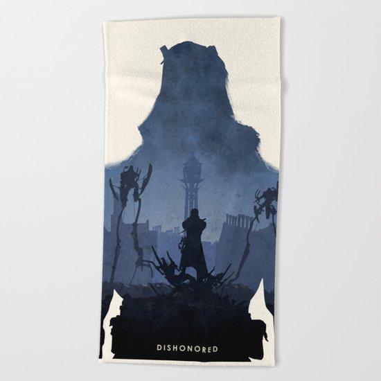 Dishonored Beach Towel