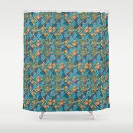 Nkyimu Geo Shower Curtain