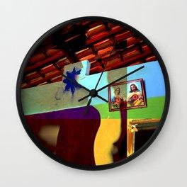 Internal landscapes Wall Clock
