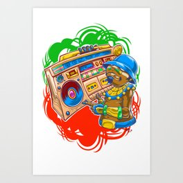 AM Radio Art Print