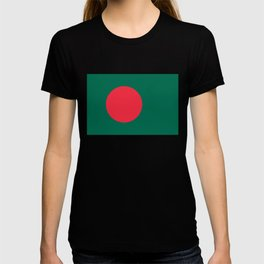 Flag of Bangladesh, High quality authentic HD version T-shirt