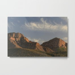 The majesty of the mountains at Catalina State Park II Metal Print