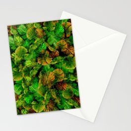 Tropical leaf random pattern painting iPhone 4 4s 5 5c 6 7, pillow case, mugs and tshirt Stationery Cards