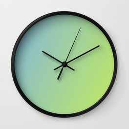 Pastel Colorful Gradient Wall Clock