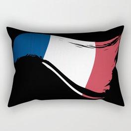 The Flag of France I Rectangular Pillow
