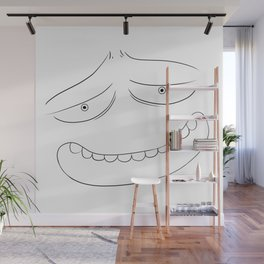 A Good Face that Loves You Wall Mural