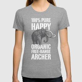 100% PURE HAPPY ORGANIC FREE-RANGE ARCHER T-shirt