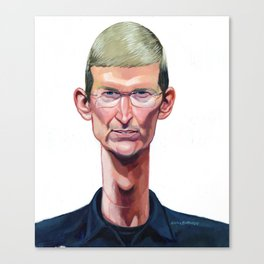 Tim Cook Canvas Print