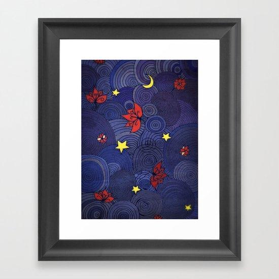 Lotus Sky Framed Art Print