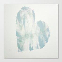 blue, Love Canvas Print