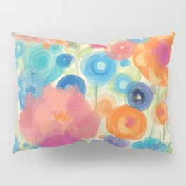 Flower Power Garen by Odette Lager Pillow Sham