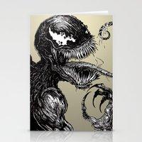 venom Stationery Cards featuring Venom by Dan Bingham