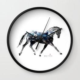 Horse (Trotting Elegance) Wall Clock