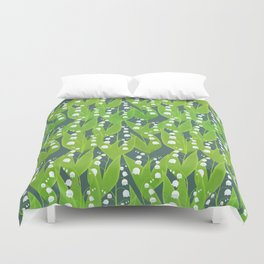 Lily of the Valley Pattern Duvet Cover