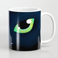 toothless Mugs featuring Toothless by Dontmournforthedead