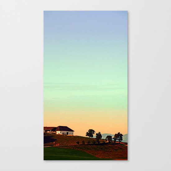 The silence of no lambs | landscape photography Canvas Print
