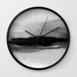 Illusions Of Bliss 1L by Kathy Morton Stanion Wall Clock