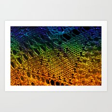 Entwined in Life Art Print