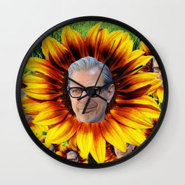 Jeff Goldbloom Wall Clock