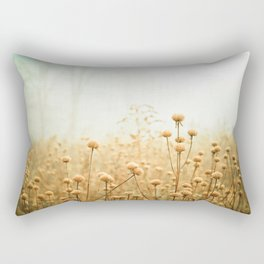 Daybreak in the Meadow Rectangular Pillow