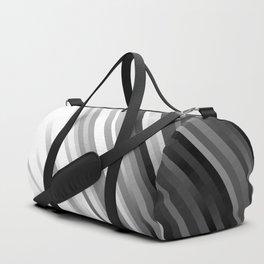 stripes wave pattern 1 bwiv Duffle Bag