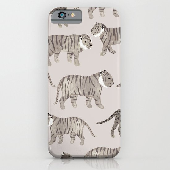 Gray Tigers iPhone & iPod Case