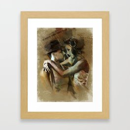 Bonnie and Clyde Framed Art Print