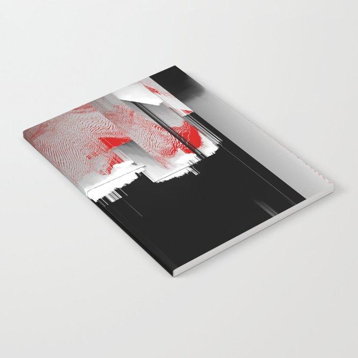 Minty Fresh Glitch Notebook