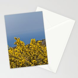 Landscape on mountain with blue sky Stationery Cards