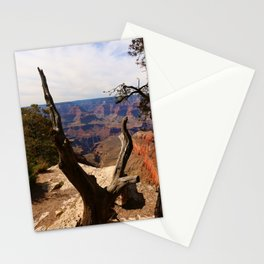 Grand Canyon View Through Dead Tree Stationery Cards
