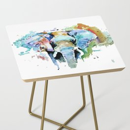 Animal painting Side Table