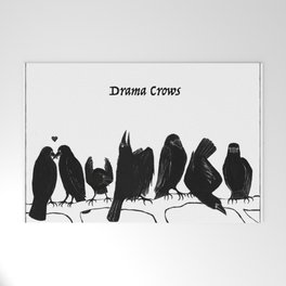 Drama Crows Welcome Mat