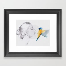 Open Your Eyes Framed Art Print