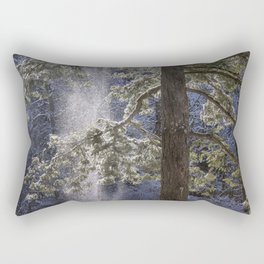 Shedding Snow Rectangular Pillow