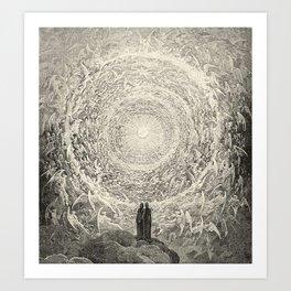 Canto XXXI Art Print