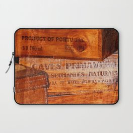 Wine crates Laptop Sleeve