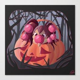 Halloween Candy Canvas Print