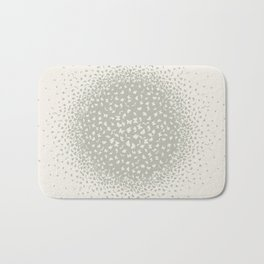 butterflies flying in a circle scatter in different directions. pastel Bath Mat