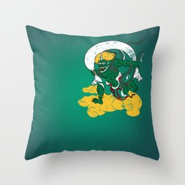 Fūjin Throw Pillow